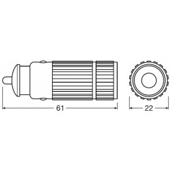 LEDinspect FLASHLIGHT 15 Luce LED per ispezione professionale