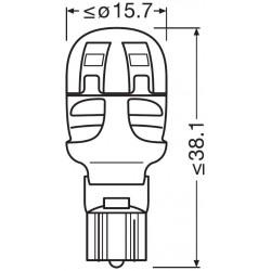 LEDriving® Premium W16W COOL WHITE 6000K 12V BLISTER DOPPIO