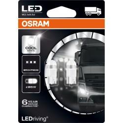 LEDriving® Premium W5W COOL WHITE 6000K 24V BLISTER DOPPIO