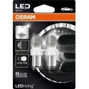 LEDriving® Premium P21/5W COOL WHITE 6000K 12V BLISTER DOPPIO