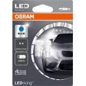 LEDriving® Standard W5W BLUE 12V BLISTER DOPPIO