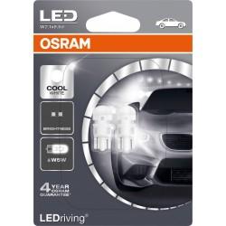 LEDriving® Standard W5W COOL WHITE 6000K 12V BLISTER DOPPIO