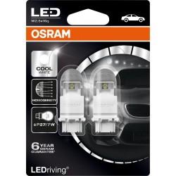 LEDriving® Premium P27/7W COOL WHITE 6000K 12V BLISTER DOPPIO