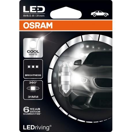 LEDriving® Premium siluro 31mm COOL WHITE 6000K 12V BLI1