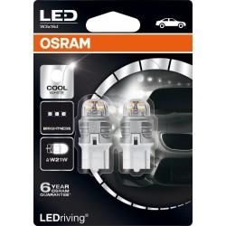 LEDriving® Premium W21W COOL WHITE 6000K 12V BLISTER DOPPIO