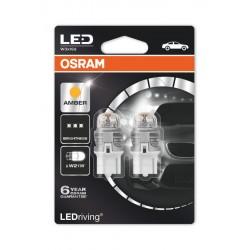 LEDriving® Premium W21W YELLOW 12V BLISTER DOPPIO