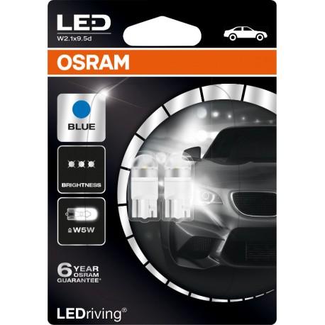 LEDriving® Premium W5W BLUE 12V BLISTER DOPPIO