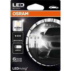 LEDriving® Premium W5W WARM WHITE 4000K 12V BLISTER DOPPIO