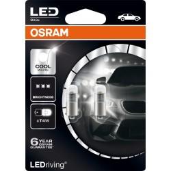 LEDriving® Premium T4W COOL WHITE 6000K 12V BLISTER DOPPIO