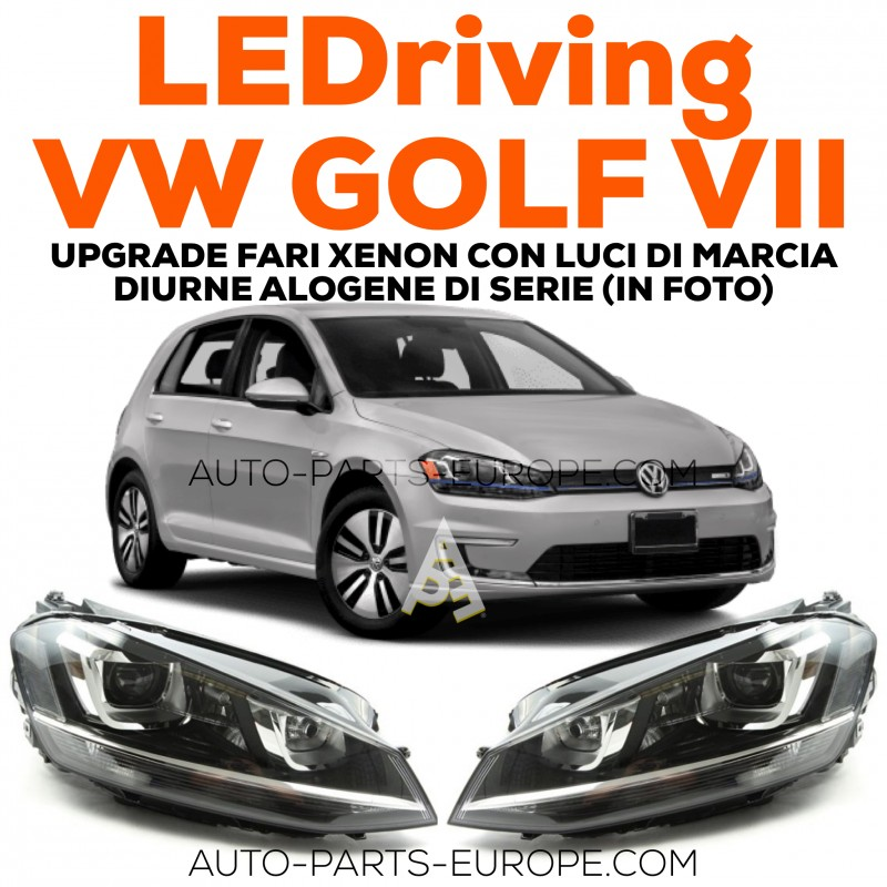 osram ledriving vw golf vii chrome full led headlight kit. Black Bedroom Furniture Sets. Home Design Ideas