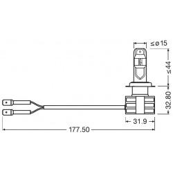 H7 LED - LAMPADE OSRAM LEDriving® 67210CW