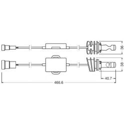 H10 - LAMPADE LED OSRAM LEDriving® 9645CW