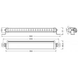 LEDriving Lightbar FX500-CB faro LED abbagliante supplementare